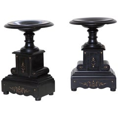 Pair of French Garniture Tazze