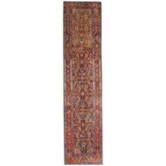 Antique Carpet Runners, Persian Kurdish Stair Runner Rugs