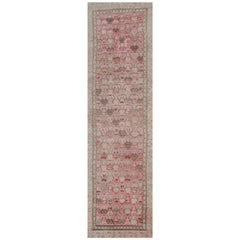 Antique Carpet Runners, Caucasian Karabagh Runner Rugs