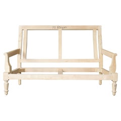 Unfinished Frame for a Napoleon III Style Settee