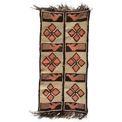 Road Runner Tapestry Wool, Peru, 1940s