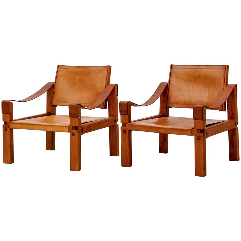 Pierre Chapo S10 Lounge Chairs  1