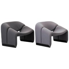 Groovy Chairs by Pierre Paulin for Artifort