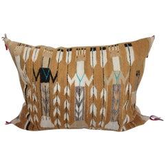 Navajo Yea Indian Weaving Bolster Pillow