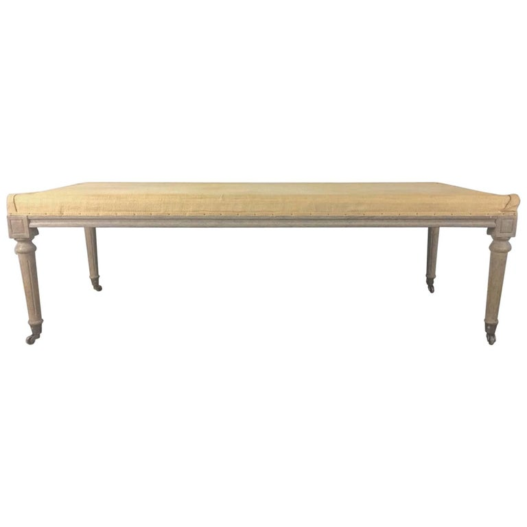 Good Size Country French Bench For Sale At 1stdibs