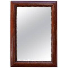 Small Mirror in Polished Mahogany, 1920s