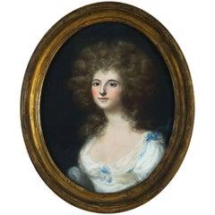Bartholomew Stoker (1763 - 1788) Portrait of The Duchess of Rutland