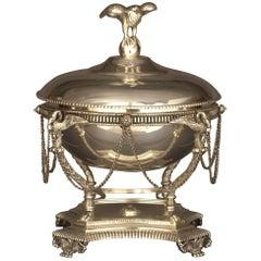 Servier-Terrine mit Deckel im Empirestil nach J.B. Claude Odiot