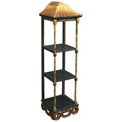 A 20th Century Chinoiserie Set of Hanging Shelves