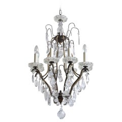 Early 1900s Italian Birdcage Chandelier