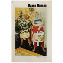'Duane Hanson' Book by Martin H Bush, 1976