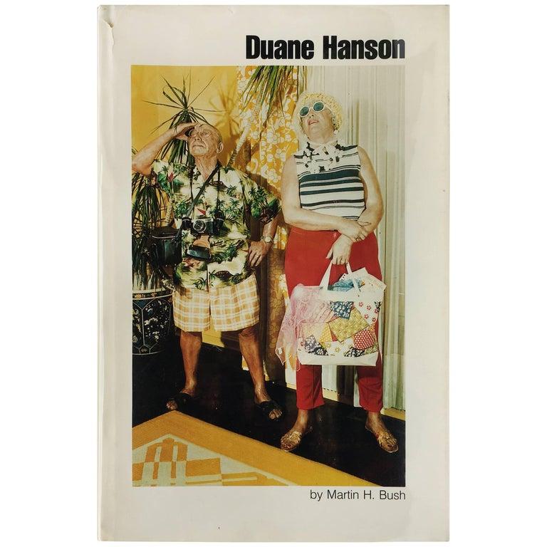 'Duane Hanson' Book by Martin H Bush, 1976 For Sale