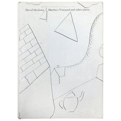 David Hockney, Martha's Vineyard and Other Places, First Edition