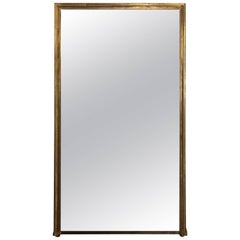 Massive Overmantel or Hall Mirror