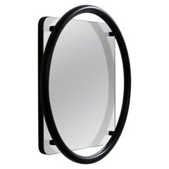Vima Mirror, 21th Century Contemporary Style Bauhaus Steel Tube Modernist Mirror