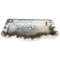 18th Century Italian Marble Sink