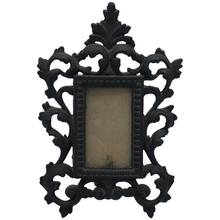 19th Century Bronze Art Nouveau Picture Frame