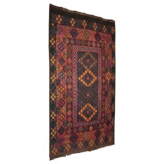 Tribal Hand-Knotted Moroccan Area Rug, Modern Design Fabulous Quality and Color
