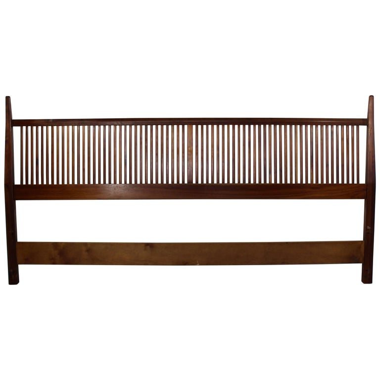 mid century modern george nakashima for widdicomb slatted. Black Bedroom Furniture Sets. Home Design Ideas