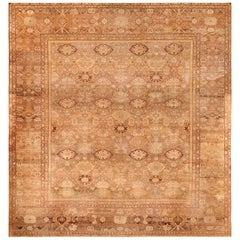 Large Antique Amritsar Indian Rug. Size: 15 ft 8 in x 17 ft 4 in