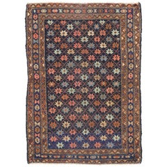 Antique Hamadan Persian Rug