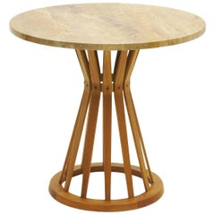 Large Sheaf of Wheat Occasional Table Designed by Edward Wormley for Dunbar