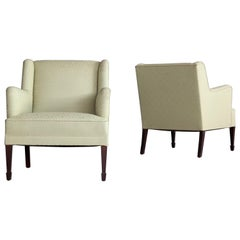 Frits Henningsen Pair of Lounge Chairs