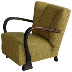 Danish Lounge Chair in the Style of Viggo Boesen, 1940s