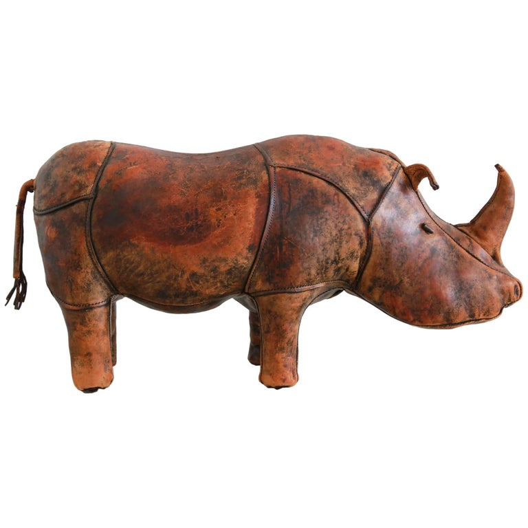 Omersa Rhinoceros Footstool for Abercrombie and Fitch