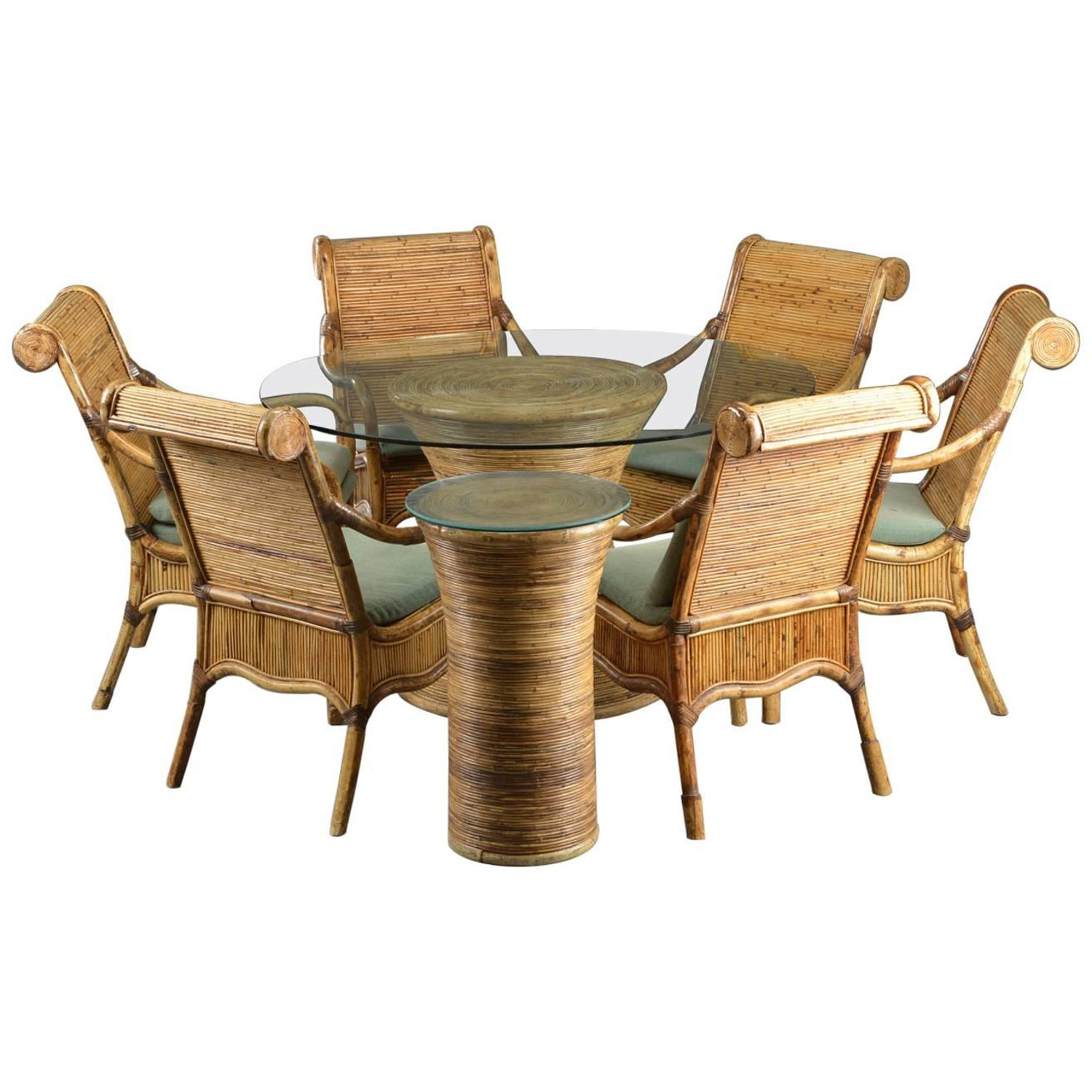 Rattan Tables 253 For Sale at 1stdibs