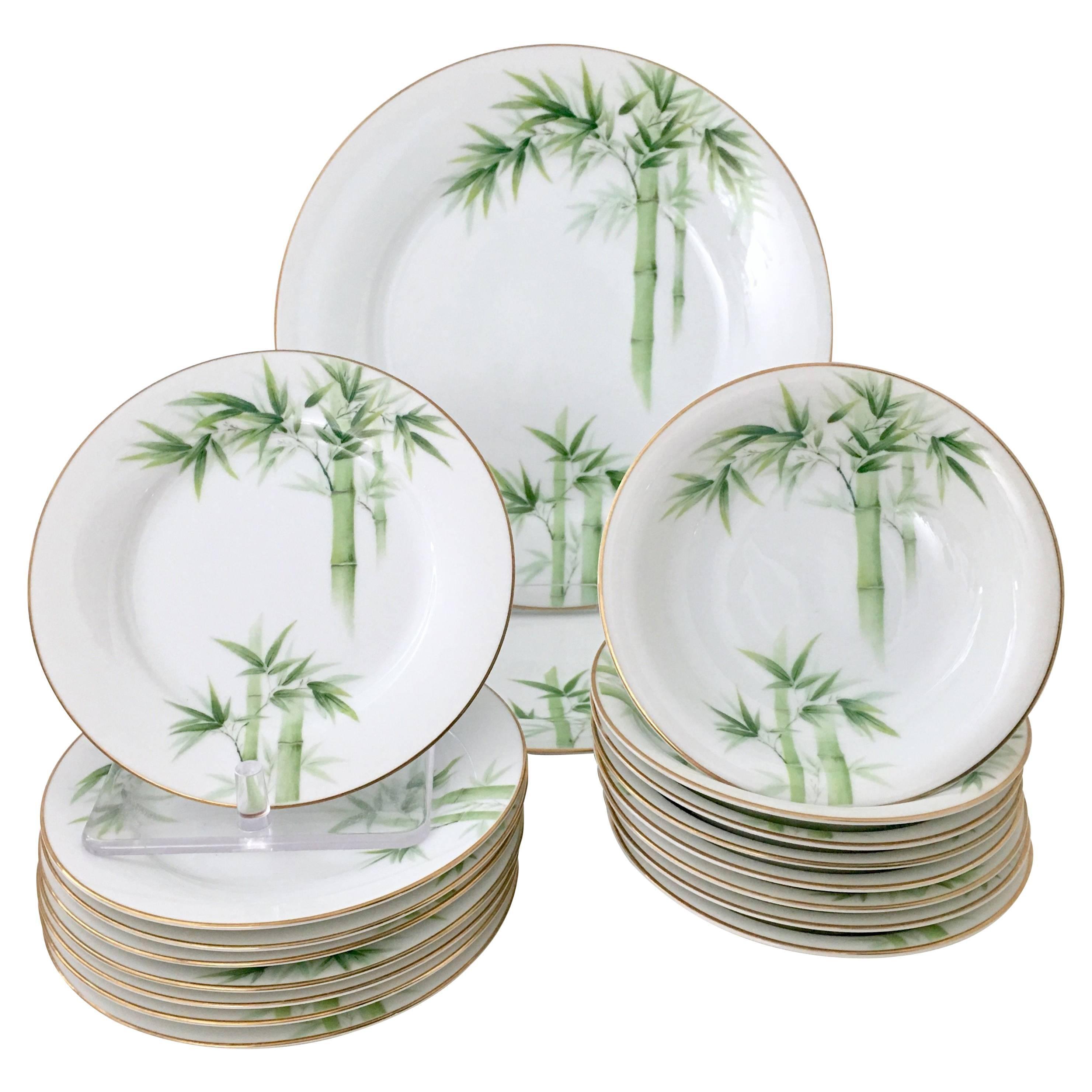 Vintage Japanese Nippon Bamboo Dinnerware Set of 18 For Sale  sc 1 st  1stDibs & Vintage Japanese Nippon Bamboo Dinnerware Set of 18 at 1stdibs