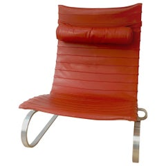 Poul Kjaerholm PK20 Lounge Chair, Manufactured by Fritz Hansen, 1980s