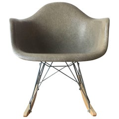 Herman Miller Eames RA Rocking Chair in Raw Umber