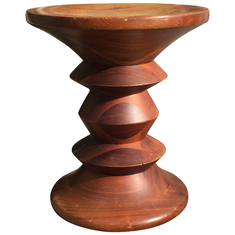 Herman Miller Eames Time Life Stool C in Walnut