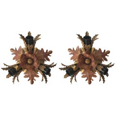 Pair of Italian Sconces by Banci