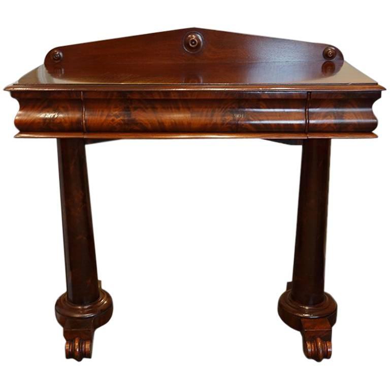 Victorian Foyer Table : Victorian mahogany hall table at stdibs
