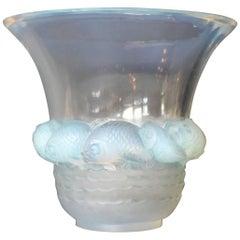 Art Deco Lalique Piriac Vase