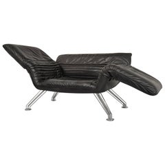 Vintage Swiss de Sede Sofa or Chaise Longue by Winfried Totzek, 1988