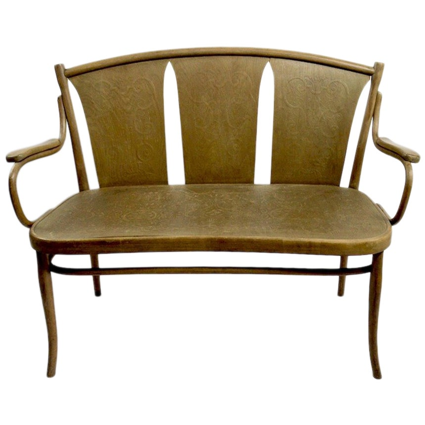 Bentwood Bench by Thonet