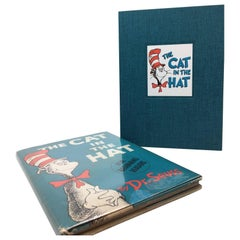 The Cat in the Hat by Dr. Suess, First Edition, 1st Printing in Original DJ 1957