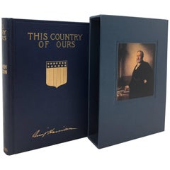 This Country of Ours by Benjamin Harrison, First Edition, Circa 1897