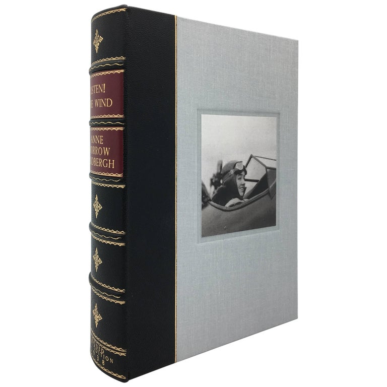 Listen! The Wind, 1st Edition, Signed by Charles & Anne Lindbergh, 1938 For Sale