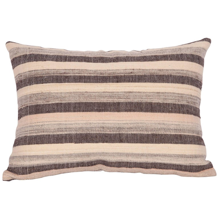 Pillow Cases Made Out of an Anatolian Turkish Mid-20th Century Kilim For Sale at 1stdibs
