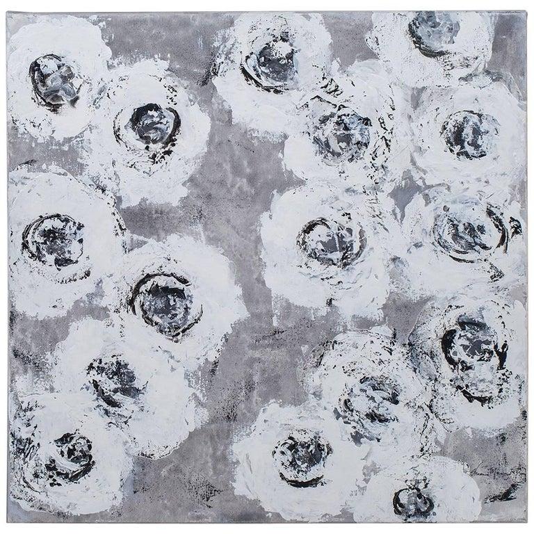 """""""Swan Rose 3"""", Original Painting, Artist Sheema Muneer"""