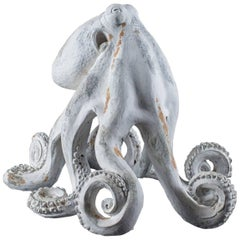 Contemporary American Octopus Centerpiece Sculpture