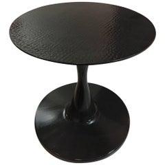 Concrete Pedestal Side Table TONDO, Francisco Passaniti