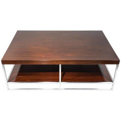 Macassar Ebony Coffee Table by Minotti