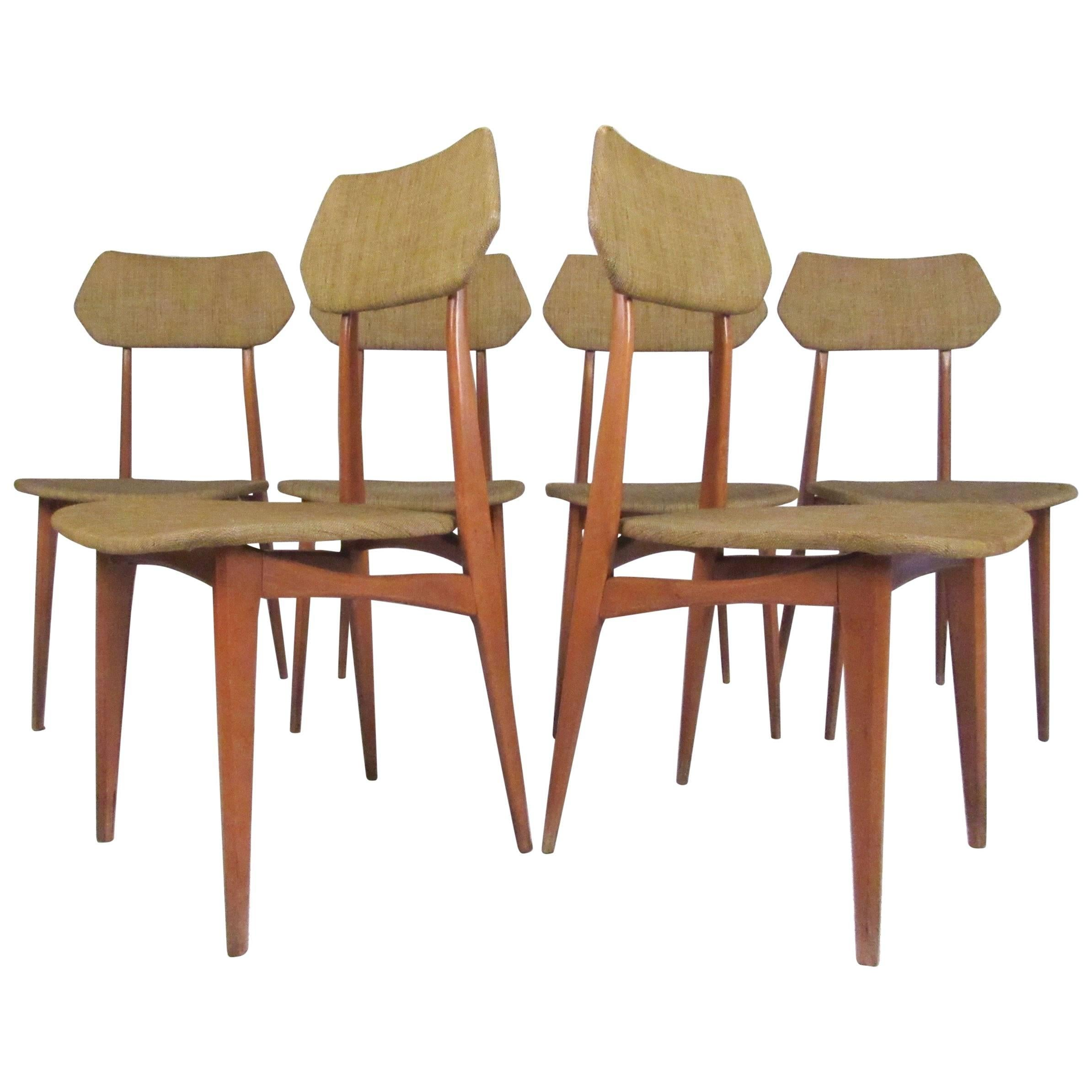 Mid-Century Dining Chairs after Ico Parisi