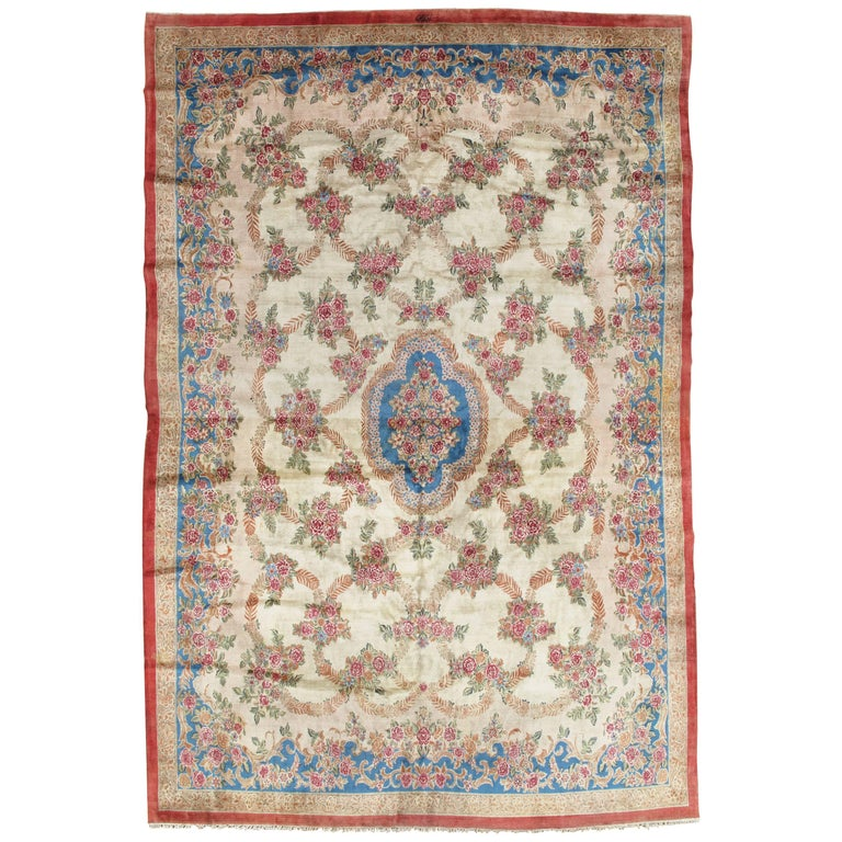 Handmade Persian Rug Wool Carpet