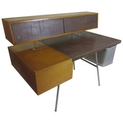 George Nelson Herman Miller Home Office Desk in Primavera